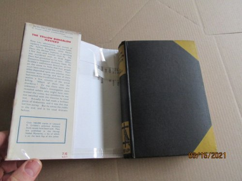 The Yellow Bungalow Mystery First Edition Hardback in Original Dustjacket