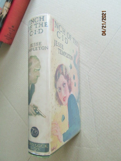 Inch of the CID First Edition Hardback in Original Dustjacket