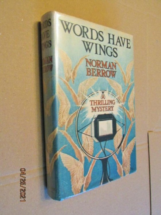 Words Have Wings First Edition Hardback in Dustjacket