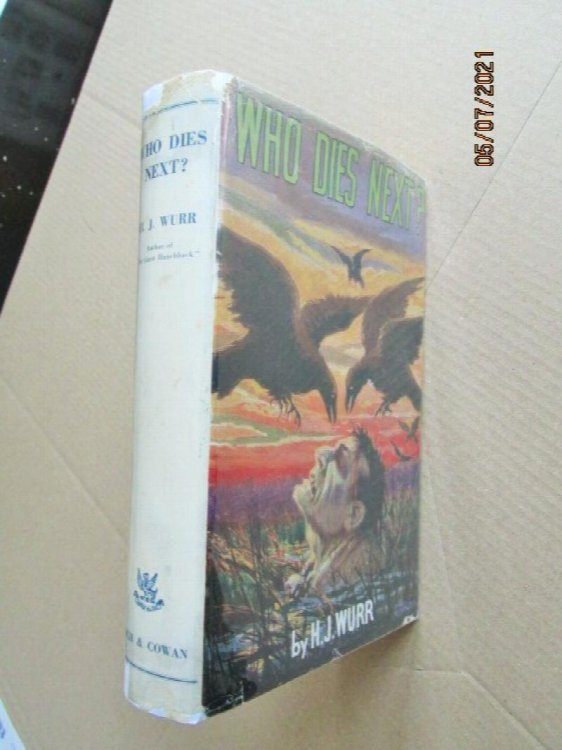 Who Dies Next First Edition Hardback in Original Dustjacket