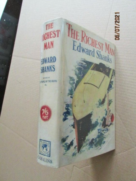 The Richest Man First Edition Hardback in Original Dustjacket