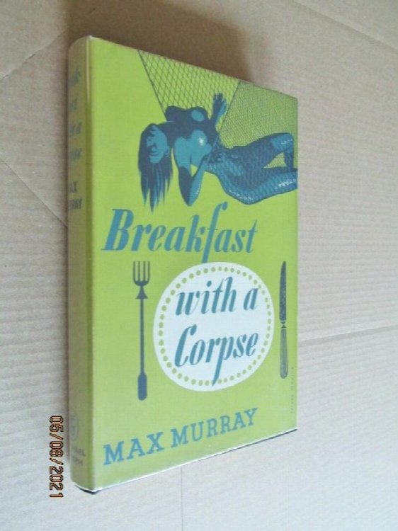 Breakfast with A Corpse First Edition Hardback in Dustjacket