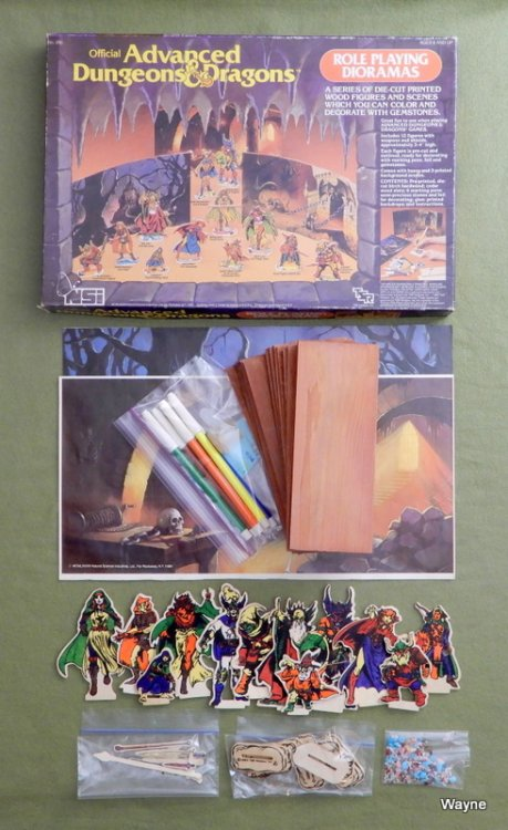 Advanced Dungeons & Dragons: Role Playing Dioramas