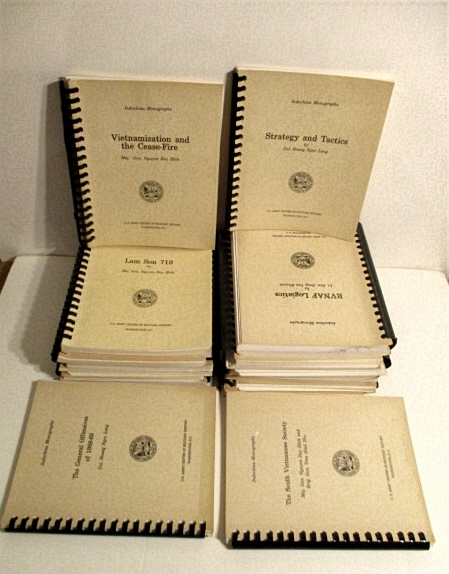 Indochina Monograph Series. Complete Set of 21 Vols.