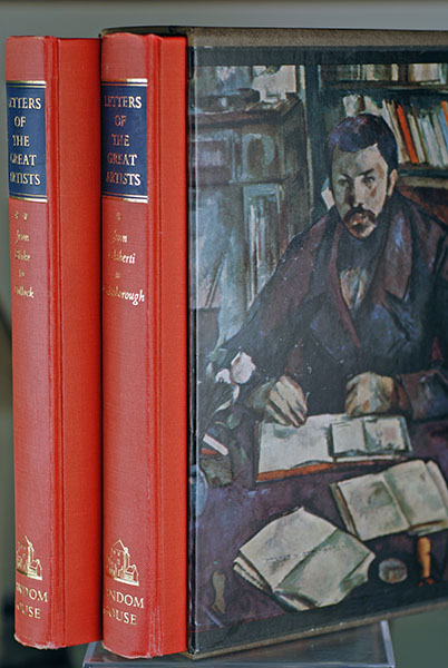 Letters of the Great Artists: Two Volumes in Slipcase