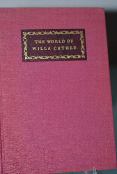 The World of Willa Cather
