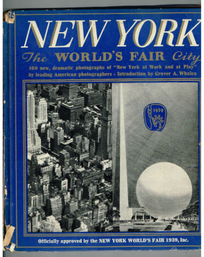New York The World's Fair City-signed by Frank Monaghan