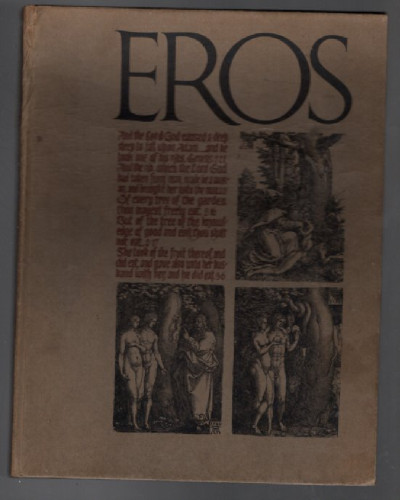 Eros: Vol. 1, No. 4 (Winter 1962) [Love in the Bible; Jewel Box Revue; Letter From Allan Ginsberg; Was Shakespeare a Homosexual ; Long After Midnight Girl; Sexual Side of Anti-Semitism; My Life and Loves; President Harding's Second Lady; Male Chape