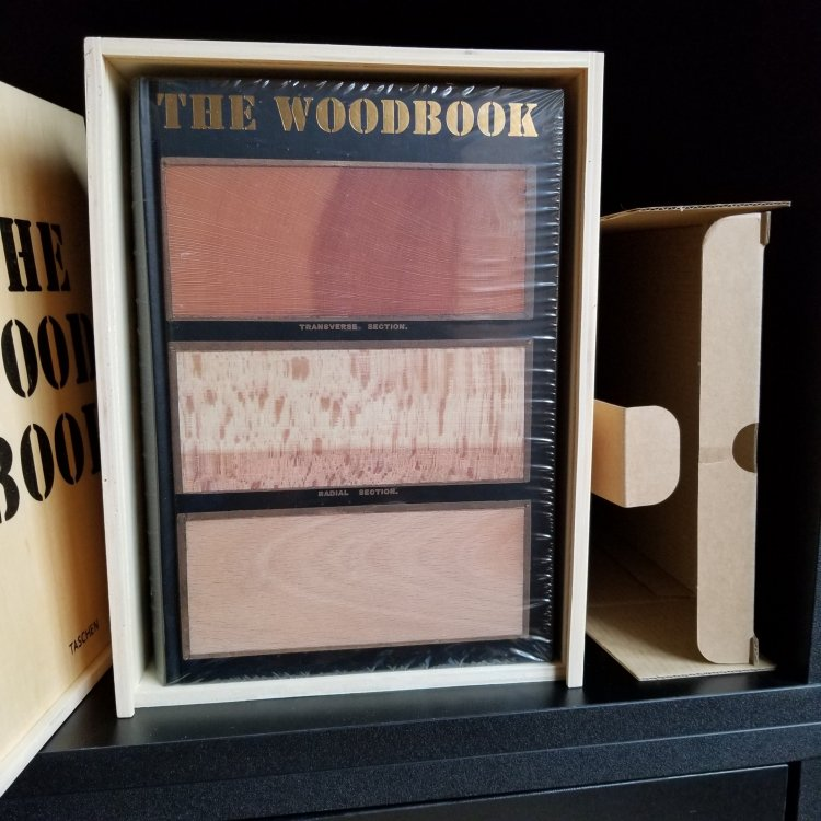 The WoodBook [The Wood Book] in Wooden Box